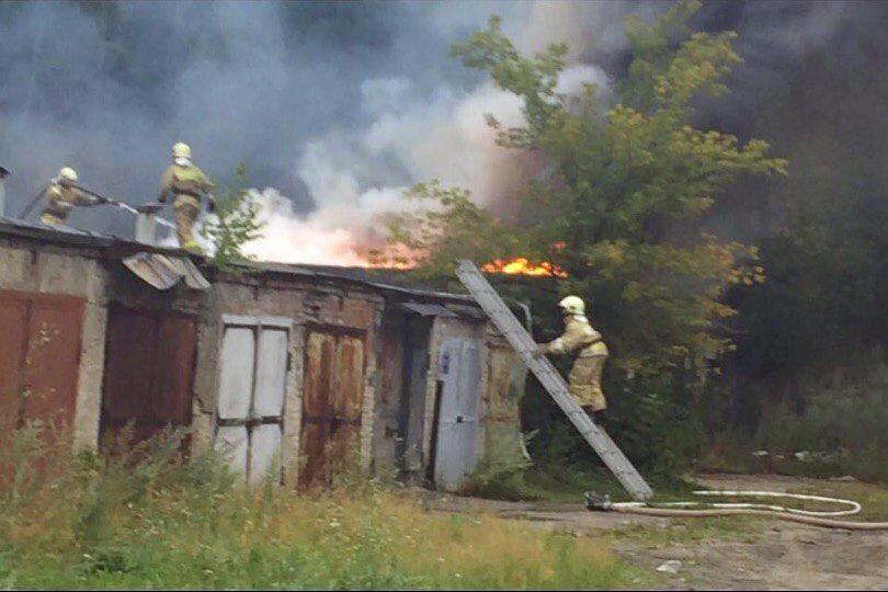 Поджог гаражей на Парусинке был предотвращен благодаря оперативным действиям специальных служб