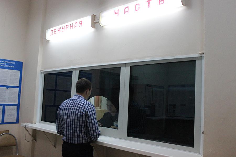 Представитель Общественного совета посетил изолятор временного содержания и помещение дежурной части