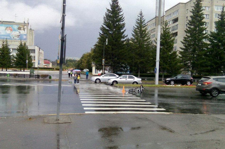 Пожилой водитель сбил велосипедистку на «зебре»