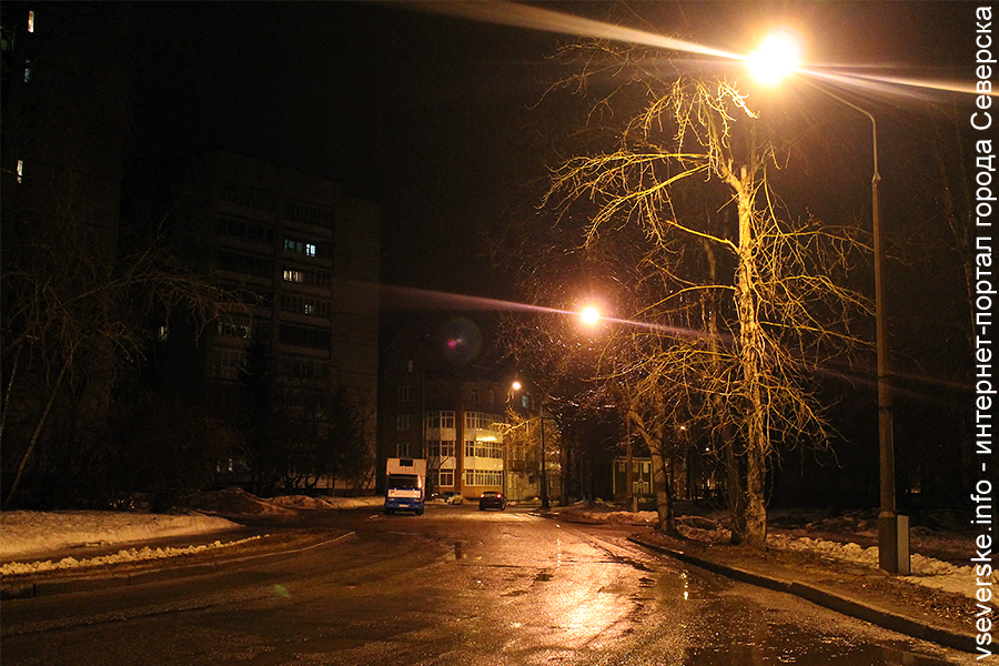 В Северске с участием общественников прошло мероприятие «Ночной город»