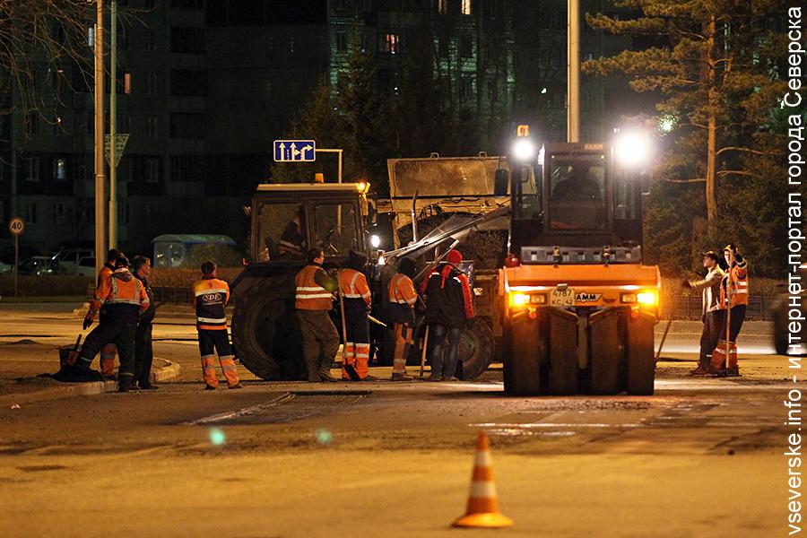 Северск получит больше средств на ремонт дорог в 2017 году