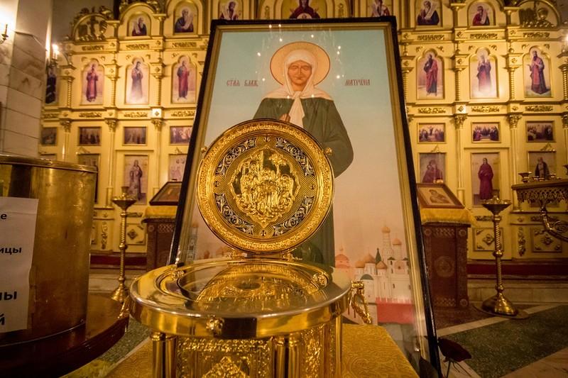 Мощи Матроны Московской будут в городе до 2 ноября