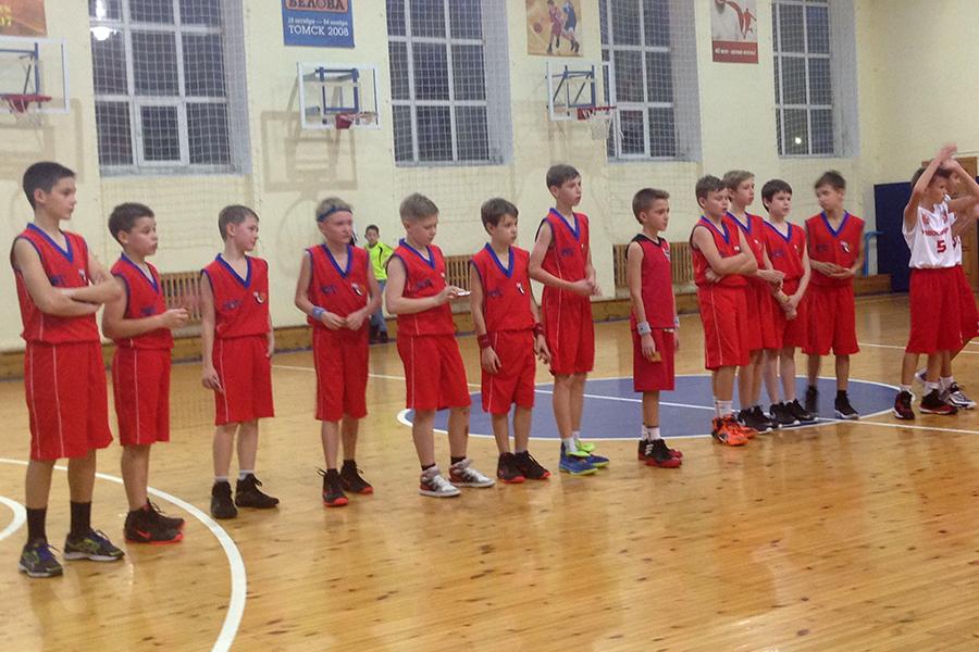 Успехи юных северских баскетболистов