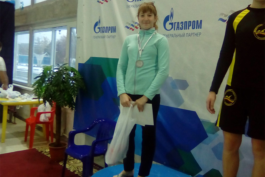 Северчанки заняли призовые места Кубка Сибири по плаванию