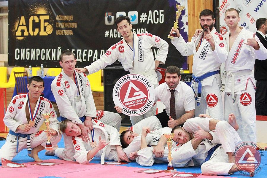 Северчане доказали свое мастерство на чемпионате СФО по джиу-джитсу