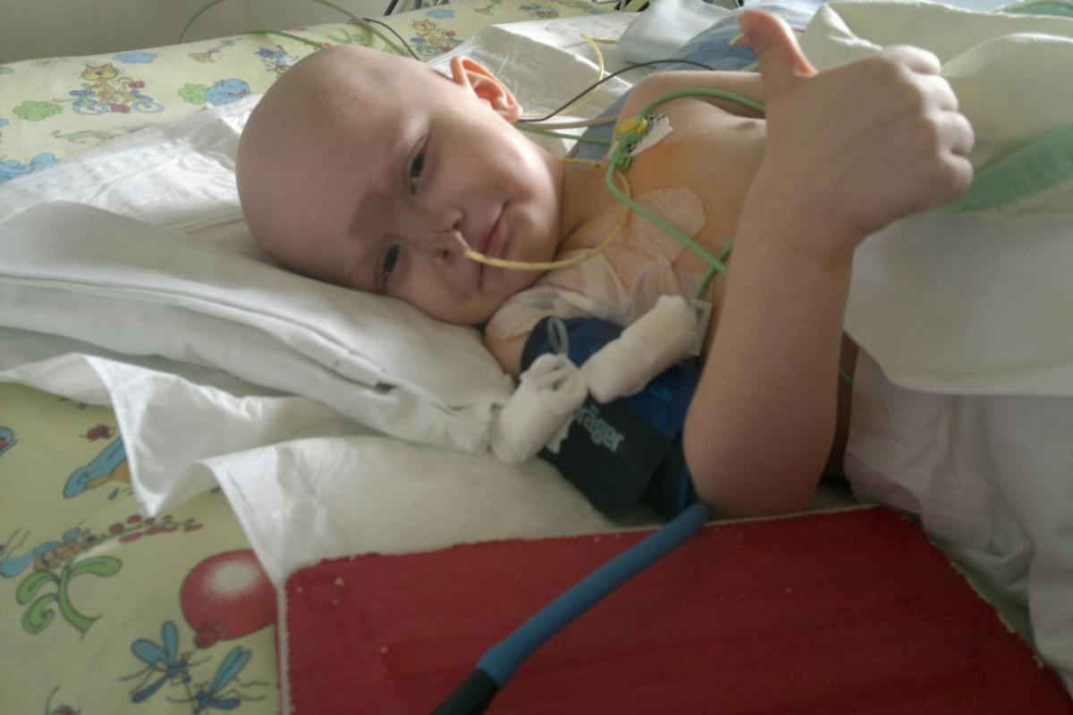 На лечение ребенка с онкозаболеванием доброжелатели пожертвовали необходимую сумму