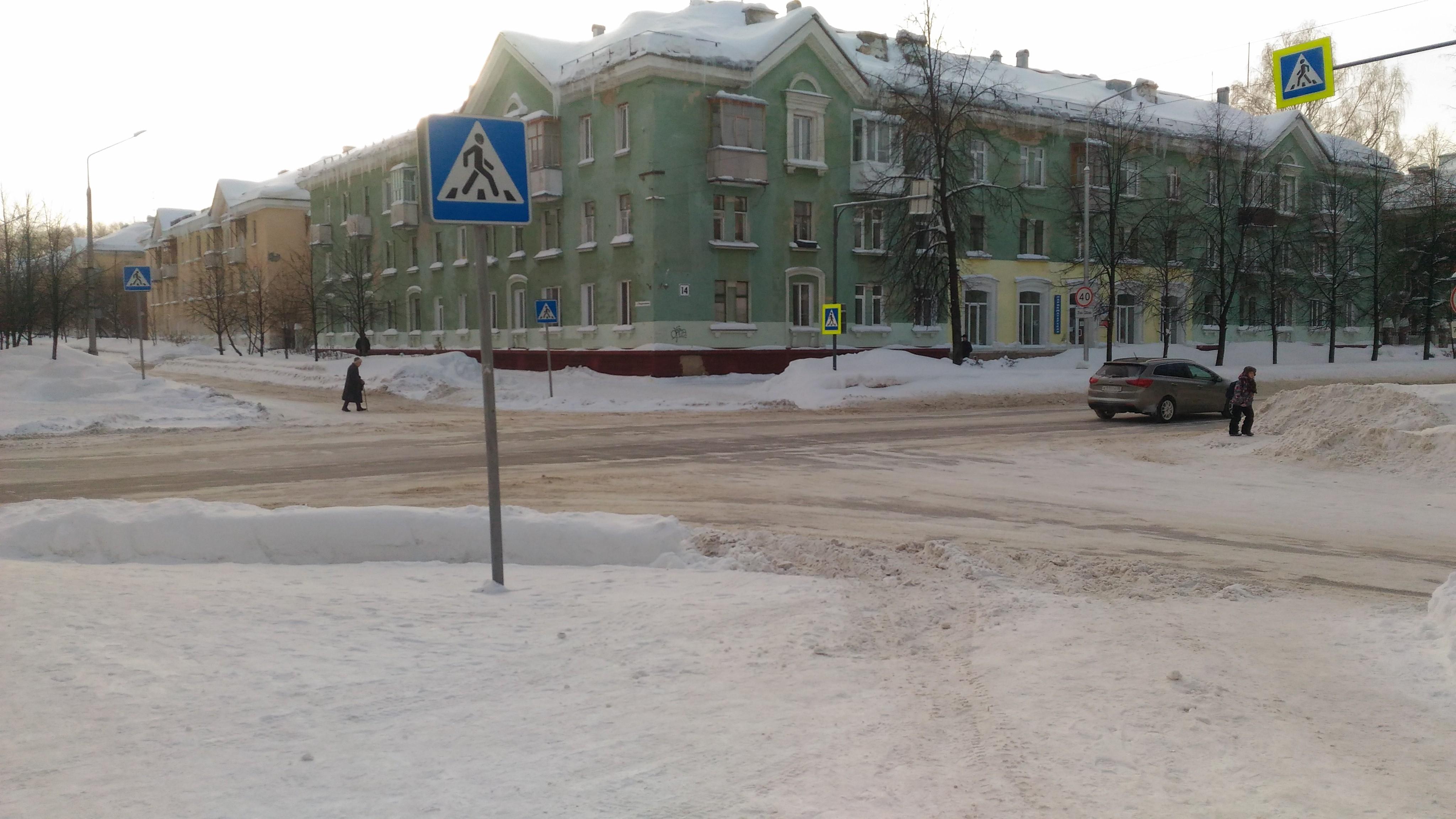Люблю Северск, и с каждым днем зимой люблю все сильнее