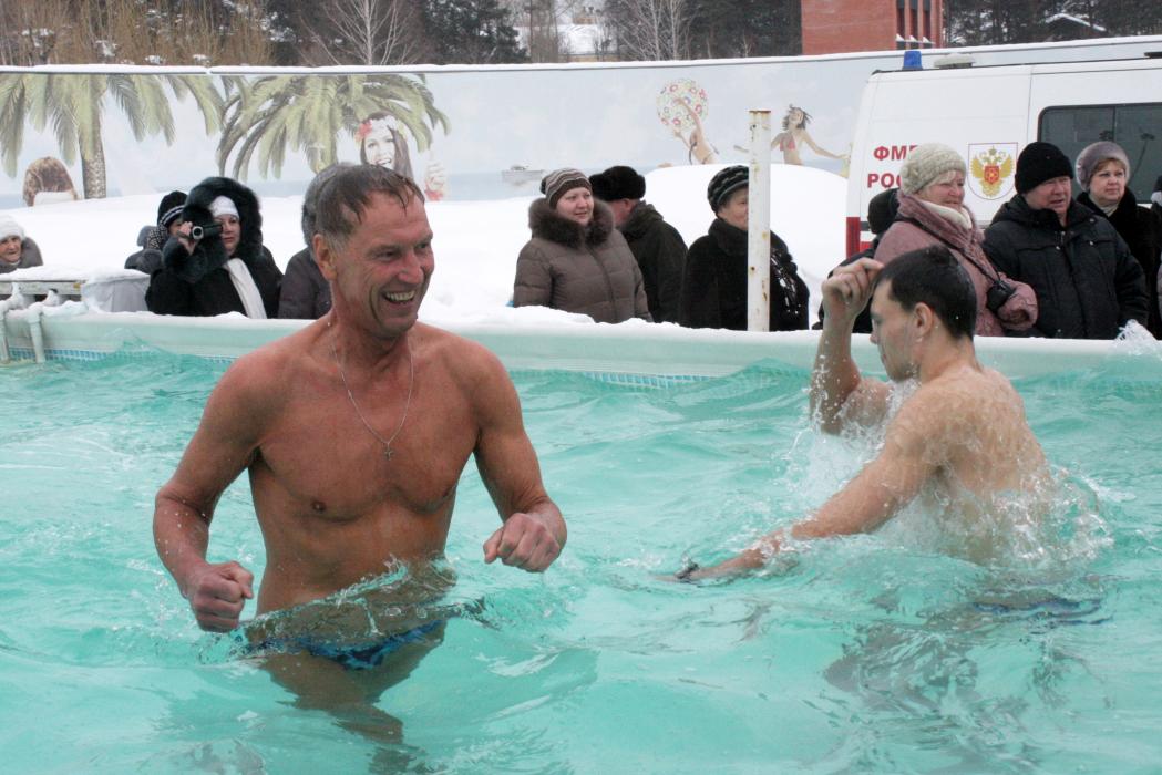 В Крещение северчане смогут искупаться в бассейне под открытым небом