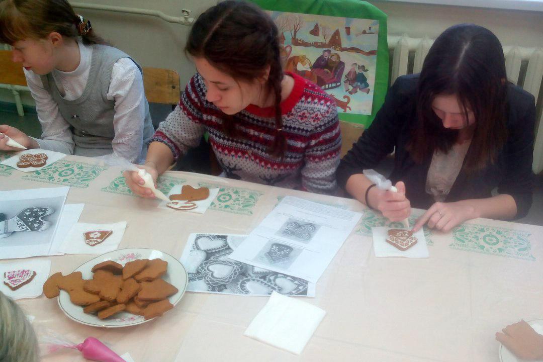 В художественной школе прошел праздник «Святки»