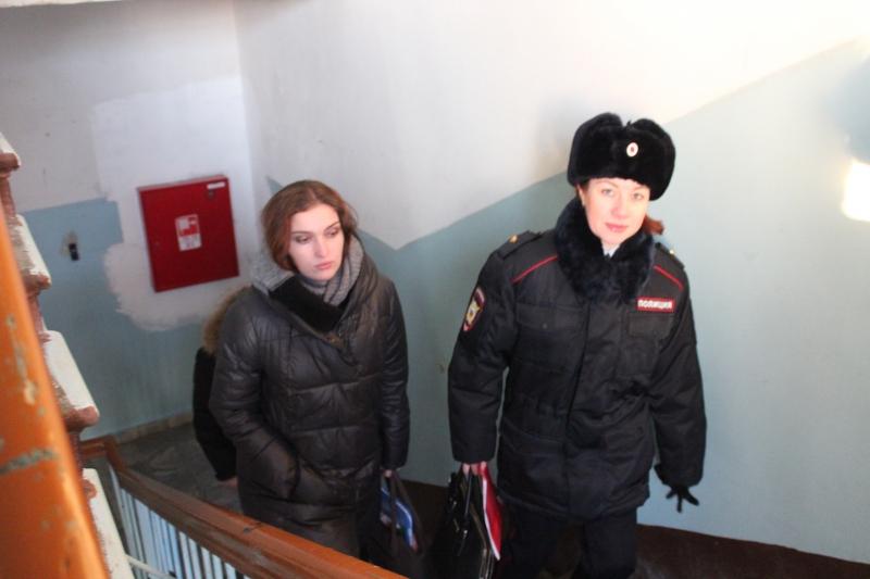 Правоохранители навестили «трудных» подростков
