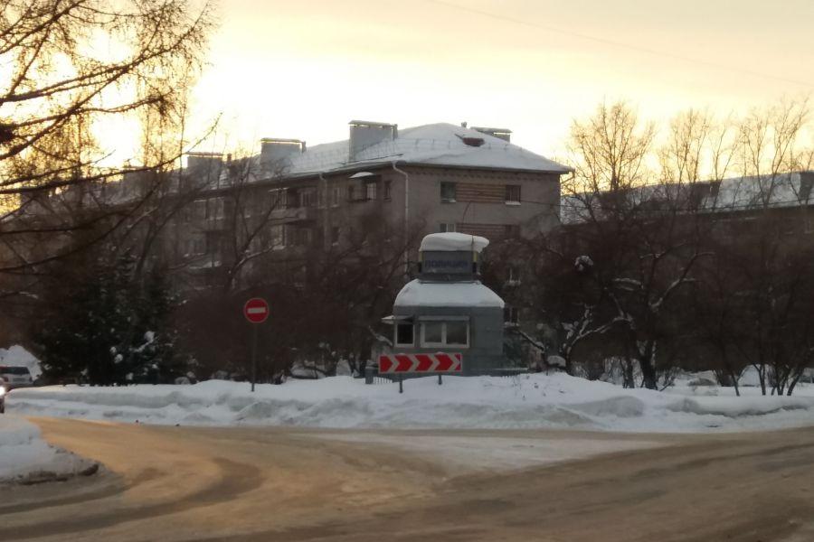 Ларьки ДПС и Администрация ЗАТО Северск
