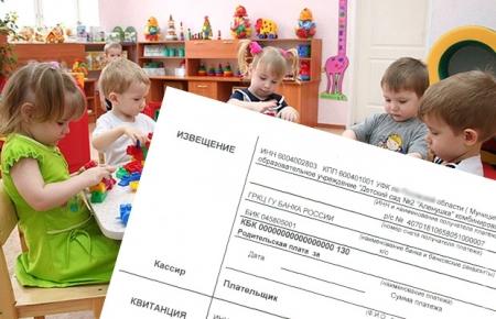 О компенсации части родительской платы за присмотр и уход за детьми