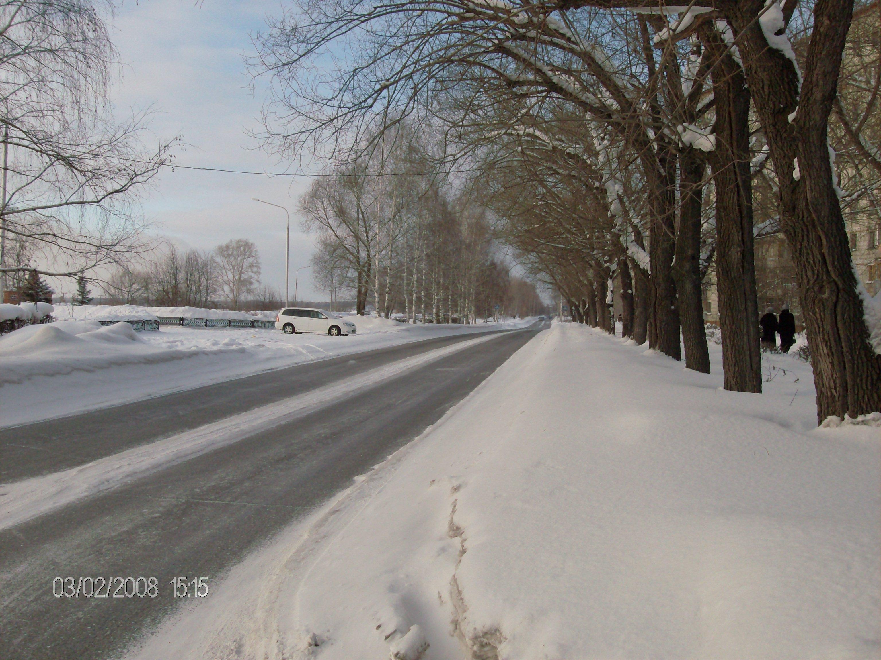 Регламент содержания автомобильных дорог и улиц ЗАТО Северск