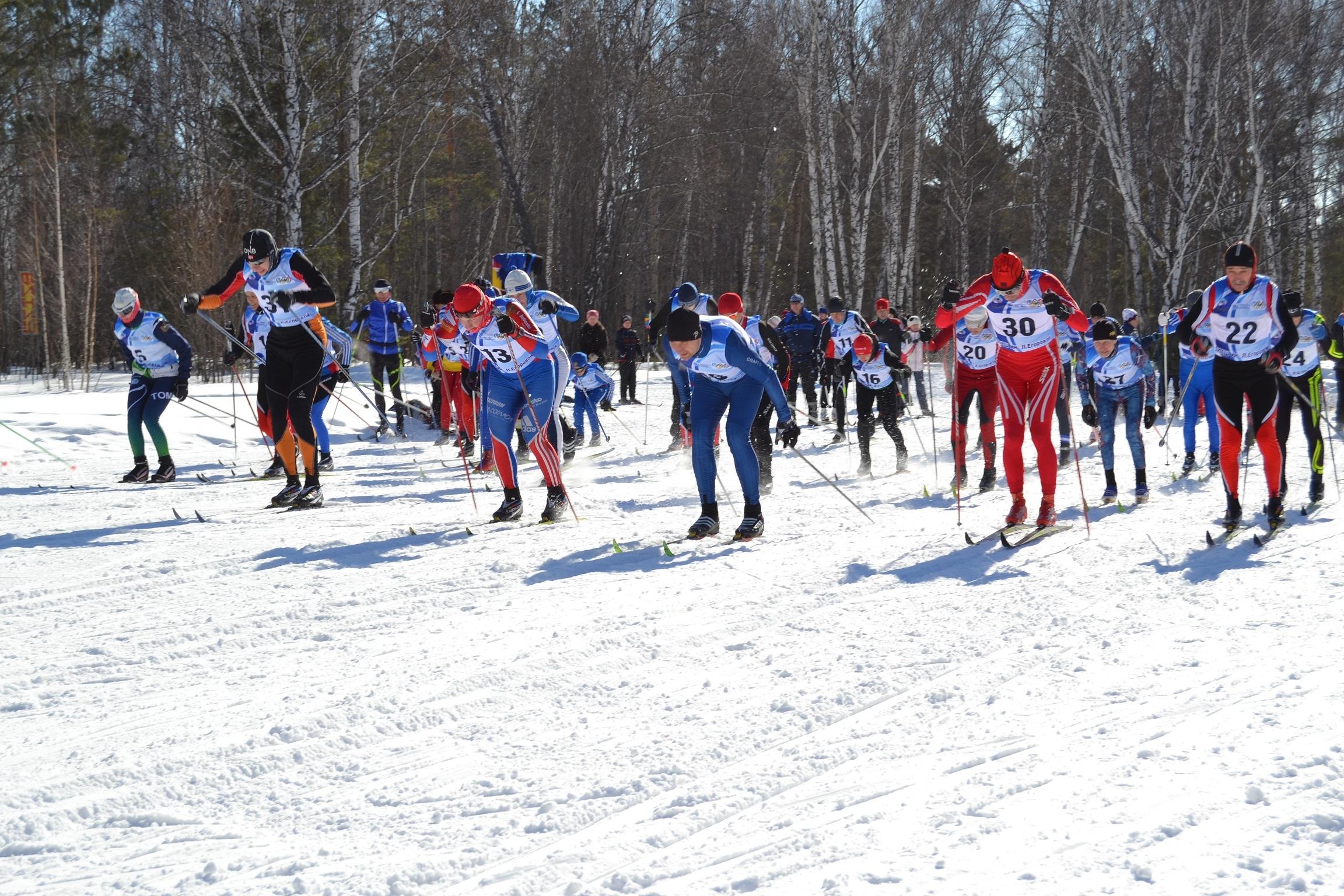 Лыжные гонки в Северске