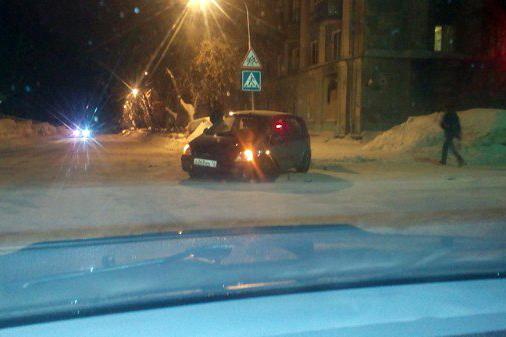ДТП на перекрестке улиц Калинина и Свердлова