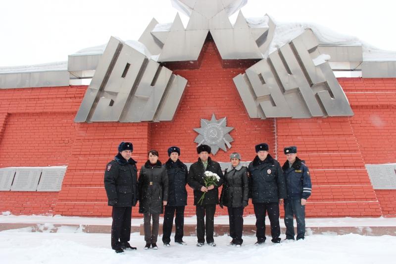 Полицейские и общественники почтили память погибших
