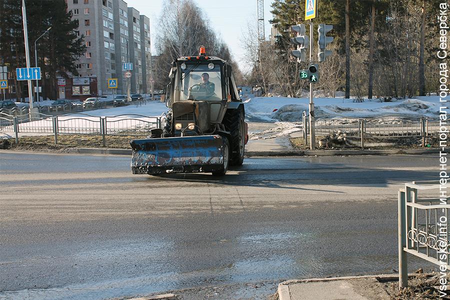 Просьба убрать автотранспорт для уборки улицы