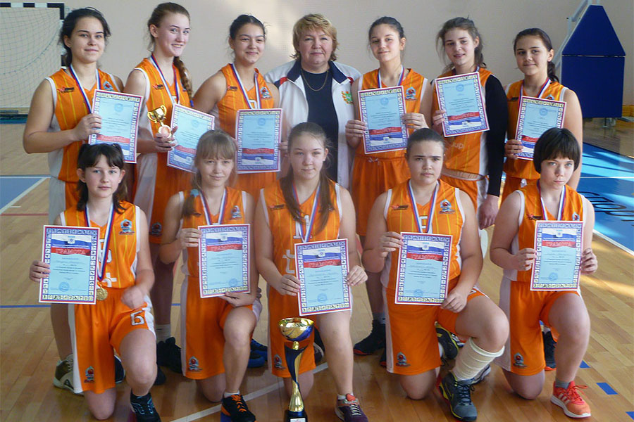 Северчанки одержали победу на турнире по баскетболу памяти Тамары Слепцовой