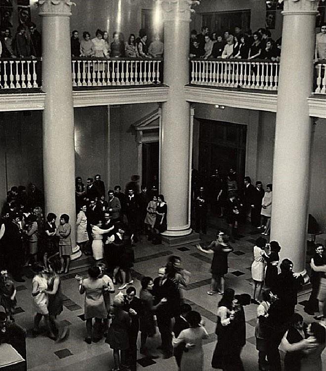 История в фотографиях. Танцы раньше были такими