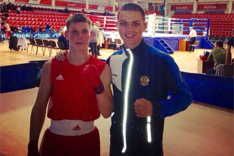 Победы юных боксеров в Казани