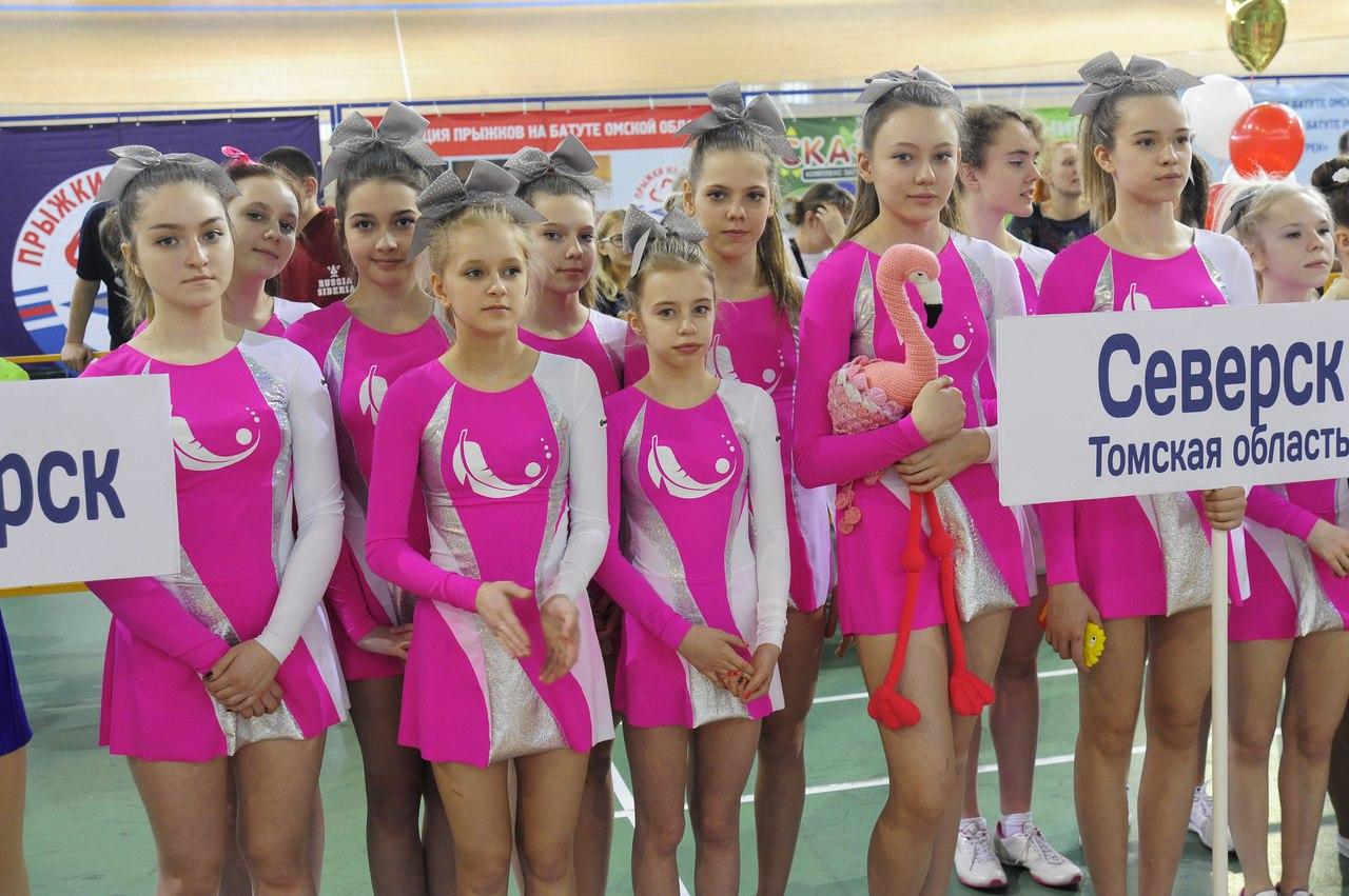 Северские чирлидерши завоевали медали на Кубке Дружбы Сибири и Урала