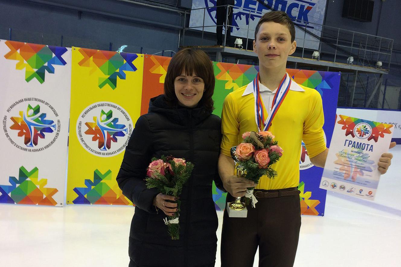 Александр Лебедев попал в десятку сильнейших фигуристов страны