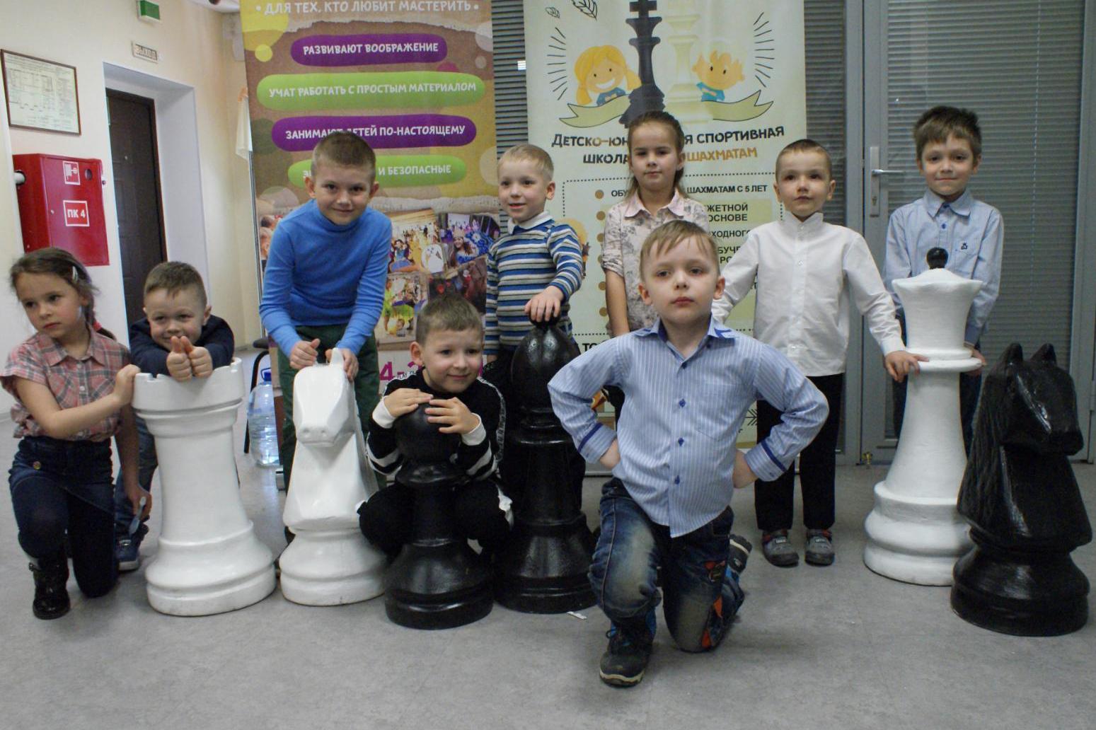 В городе проходит Первенство по шахматам среди детей