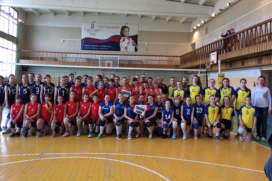 Волейболистки встретились на Открытом Первенстве СДЮСШОР им. Л. Егоровой