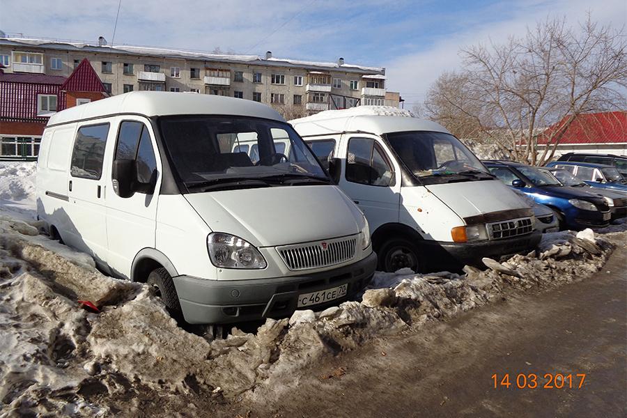 Автовладельцев просят убрать с парковки брошенные «Газели»
