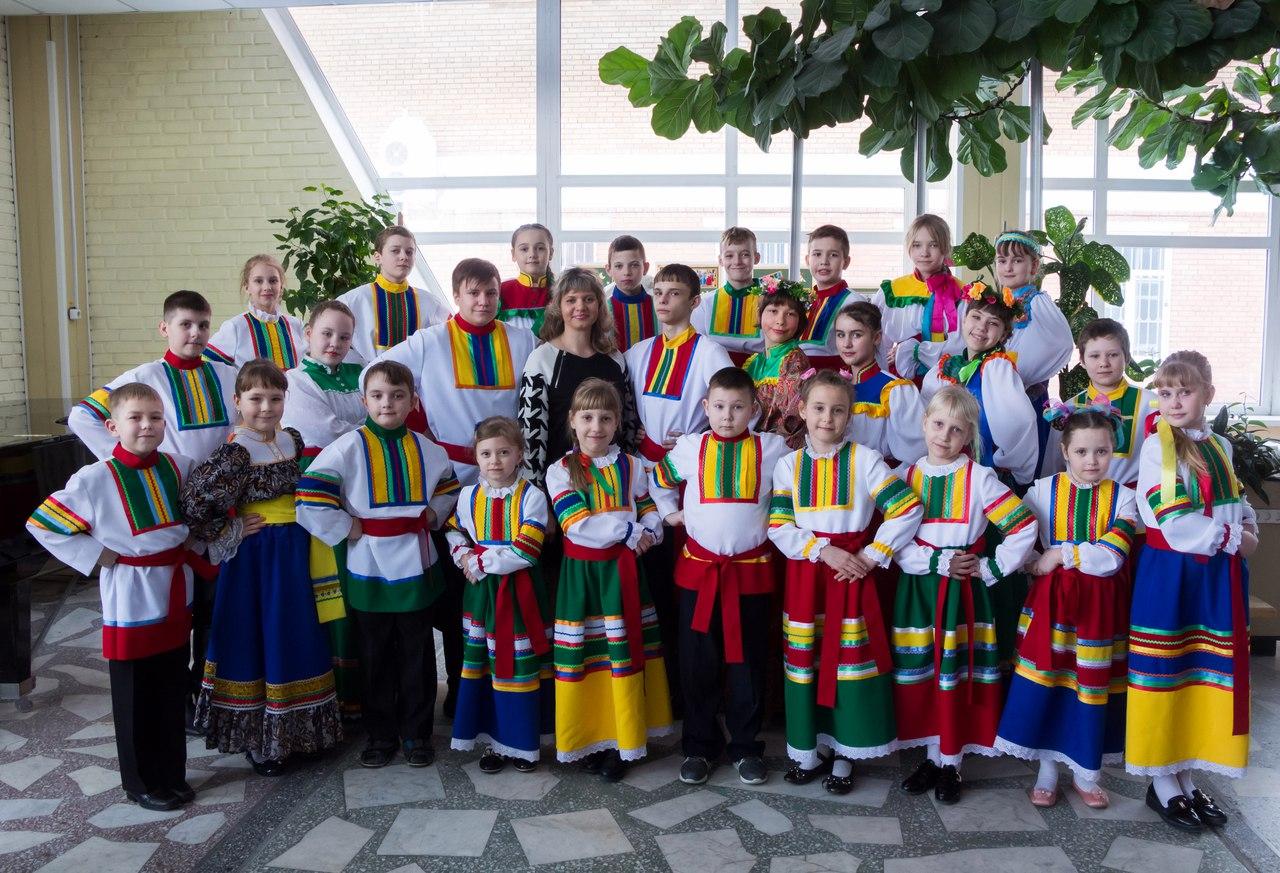 Отчетный концерт Образцового фольклорного коллектива «Славяночка»