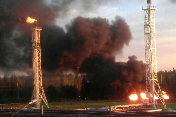 На «Томскнефтехиме» пояснили причину дыма в районе факельной установки