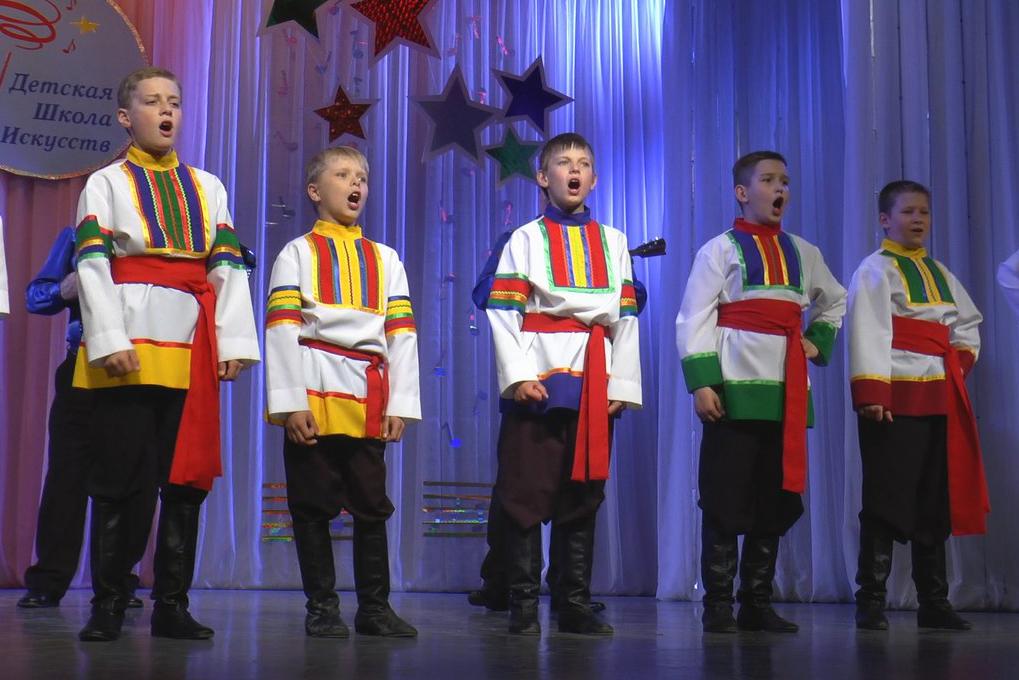 Детская школа искусств завершила сезон отчетным концертом