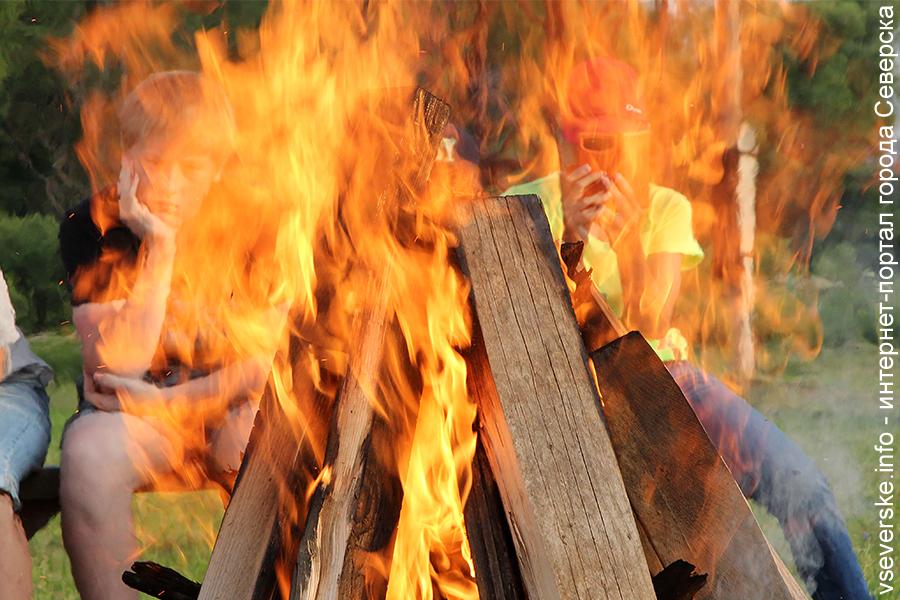 Сотрудники МЧС призывают отказаться от использования открытого огня