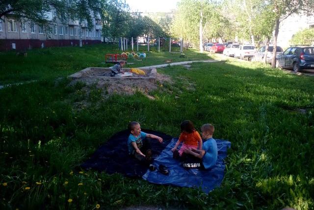 Площадка для детей от ЖЭУ