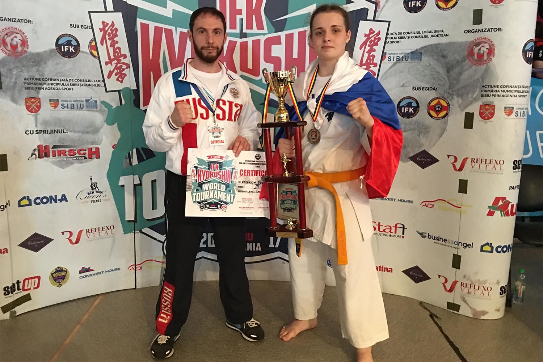 Северчанка Валерия Почебыт взяла бронзу на чемпионате мира по карате