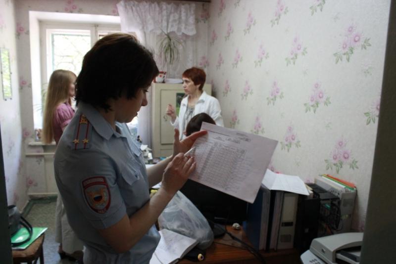 Сотрудниками полиции проведена проверка несовершеннолетних трудоустроенных на летний период