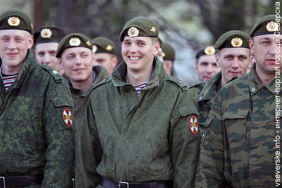 Северские военнослужащие будут представлять Росгвардию на международном конкурсе