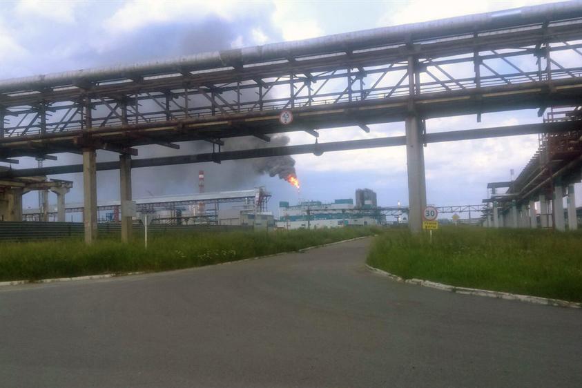 «Томскнефтехим» накануне приостановил производство