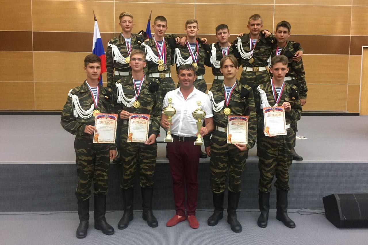 Северские спортсмены стали победителями Спартакиады молодежи России допризывного возраста