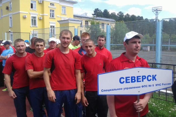 Северские спасатели завоевали бронзу на межрегиональных соревнованиях