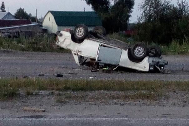 Девушка-пассажир попала в больницу после ДТП