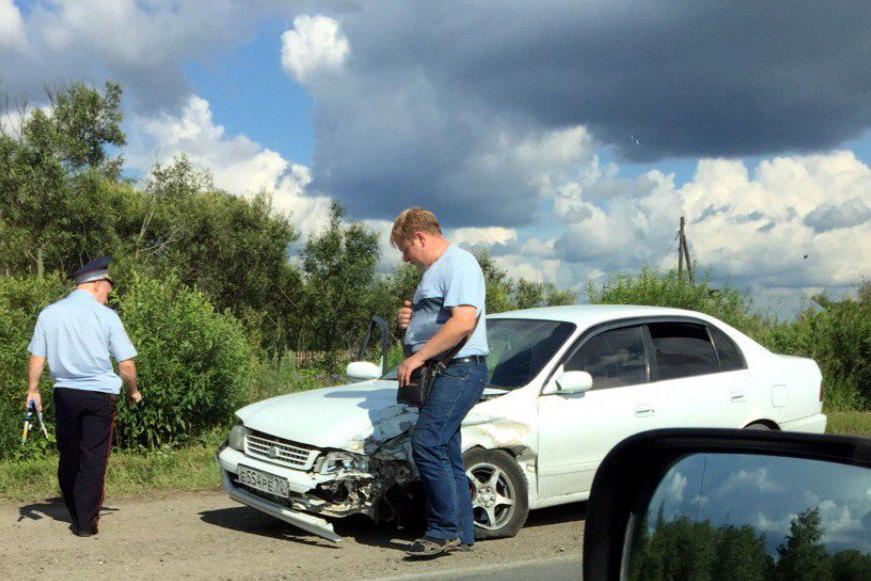 Нетрезвый водитель спровоцировал ДТП на Кузовлевском тракте
