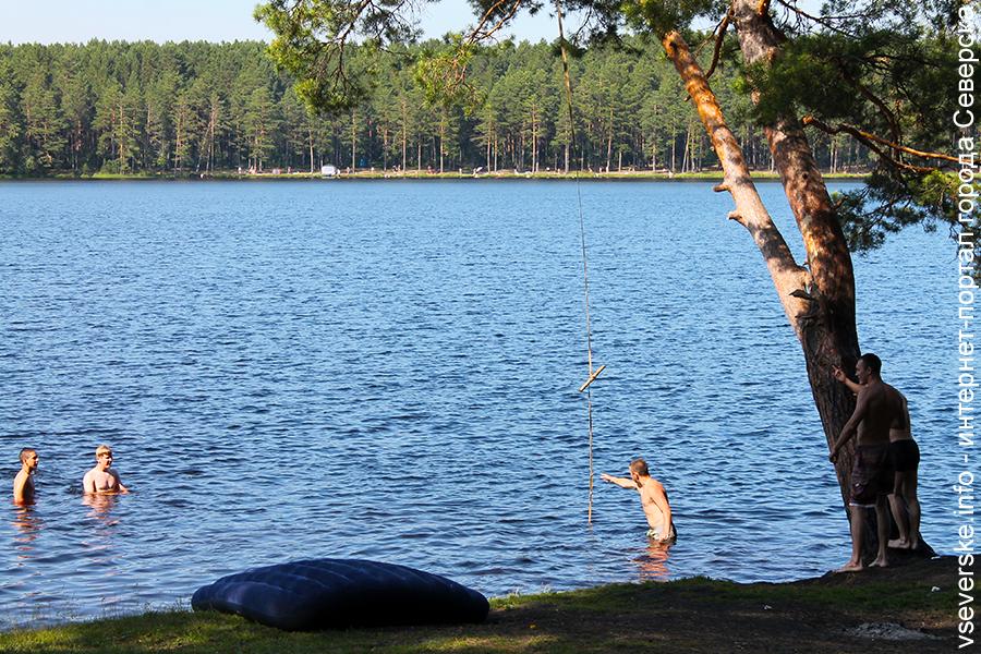 «Круглое» озеро признали непригодным для купания