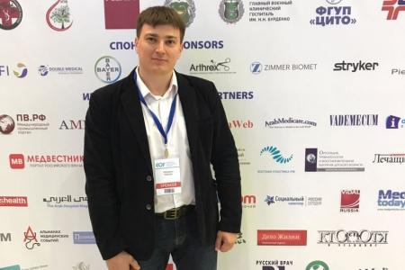 Максим Федоров принял участие в Евразийском ортопедическом форуме