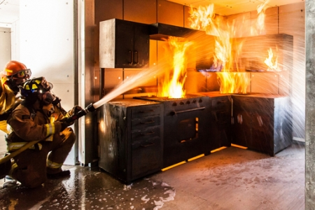 «Кухонные» пожары