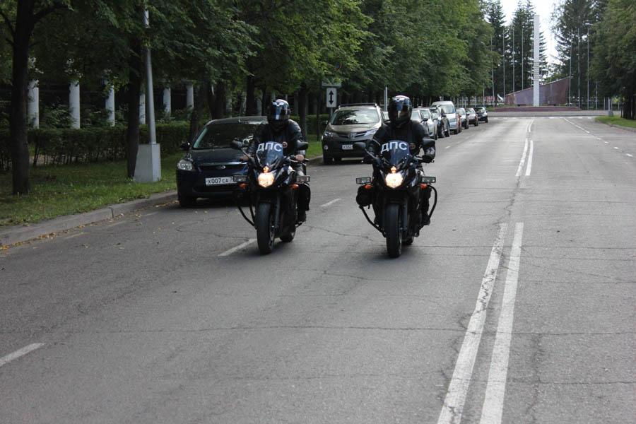 На подмогу северской госавтоинспекции пришли мотопатрули