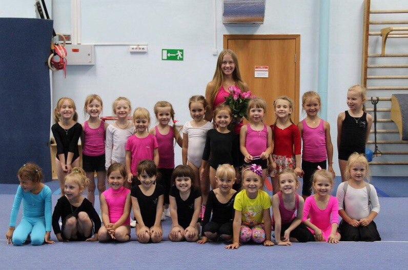 Набор девочек для занятий художественной гимнастикой