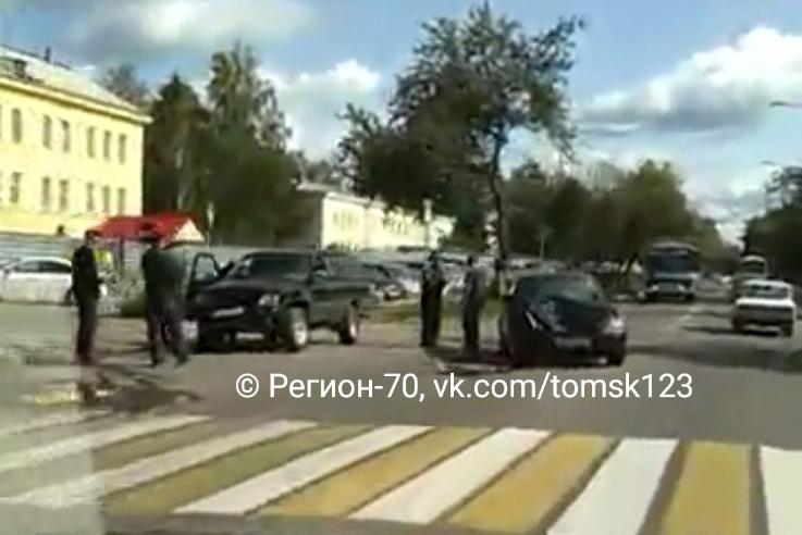 ДТП возле воинской части