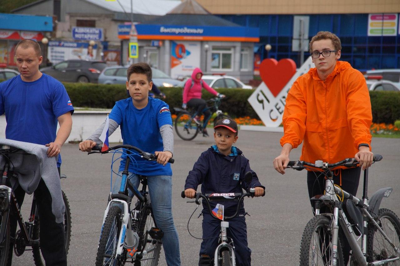 Студенты приняли участие в велопробеге