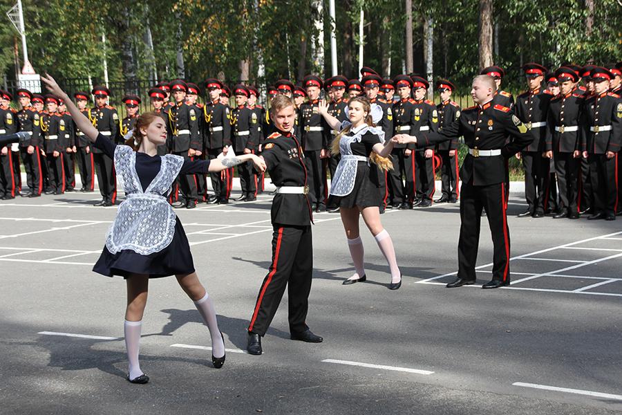 День Знаний в Северском кадетском корпусе